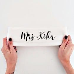 """""""Mrs Still"""" Φλις κορδέλα νύφης"""