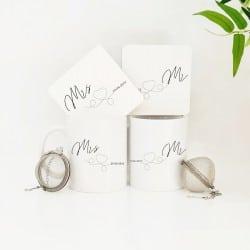 """Mr & Mrs Heart"" Tea Lovers..."