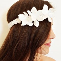 Lace Flower Crown