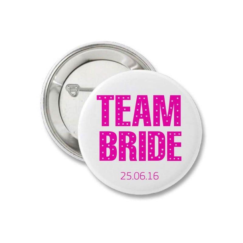 """Team Bride"" Κονκάρδα"