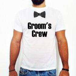 """Groom's Crew"" Bachelor Tshirt για τους Φίλους"