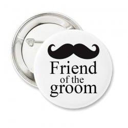"""""""Mustache Friends"""" Bachelor κονκάρδα για τους φίλους"""