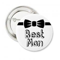 """Bowtie Best Man"" Bachelor κονκάρδα για τον κουμπάρο"