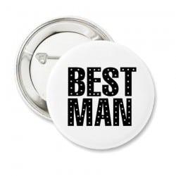 """Stars Best Man"" Bachelor κονκάρδα για τον κουμπάρο"