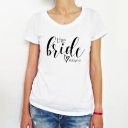 """The Bride"" Tshirt για τη Νύφη"