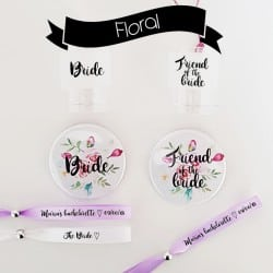 """Floral"" Candy Bachelorette Kit"