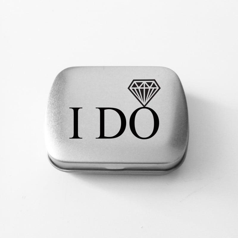 """""""I Do"""" Κουτάκι με μέντες για τη νύφη"""