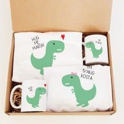 """""""Dino hug"""" Κουτί γάμου για το ζευγάρι"""
