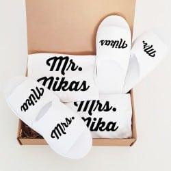 """Mr & Mrs"" Κουτί γάμου για το ζευγάρι"