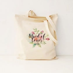 """Floral"" Τσάντα κουμπάρας"