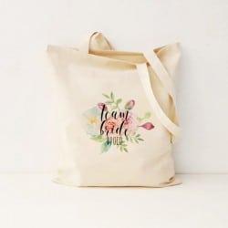"""Floral Team"" Bachelorette τσάντα για τις φίλες"