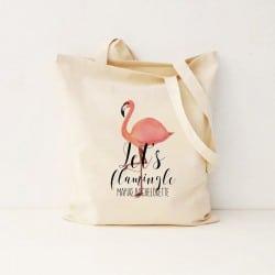 """Let's Flamingle"" Bachelorette τσάντα για τις φίλες"