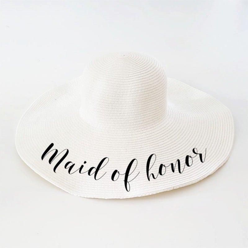 """Πλατύγυρο καπέλο """"Maid of honor"""""""
