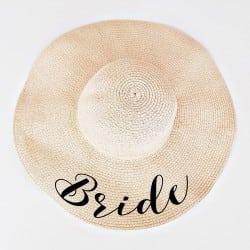 """Ψάθινο καπέλο """"Bride"""""""
