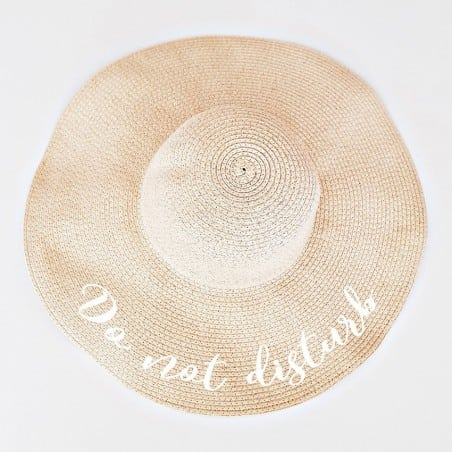 """Πλατύγυρο καπέλο """"Do not disturb"""""""