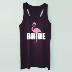 """""""Flamingo"""" Μαύρο τιραντάκι για τη νύφη"""